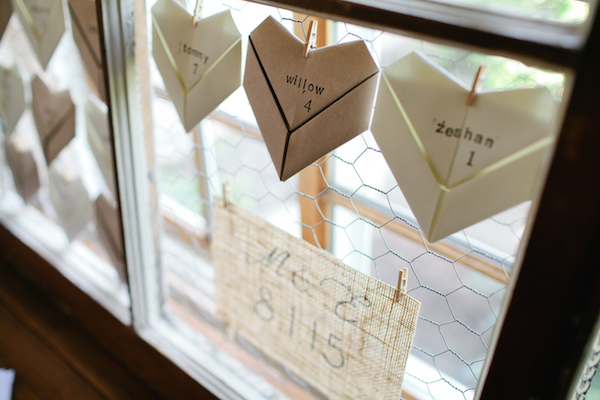 Butterfly Wedding Place Cards With Handwritten Names, Set Of 10 ... | 400x600